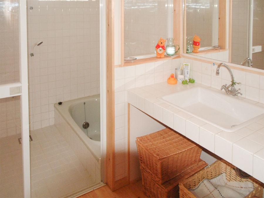 香芝市の注文住宅の洗面室