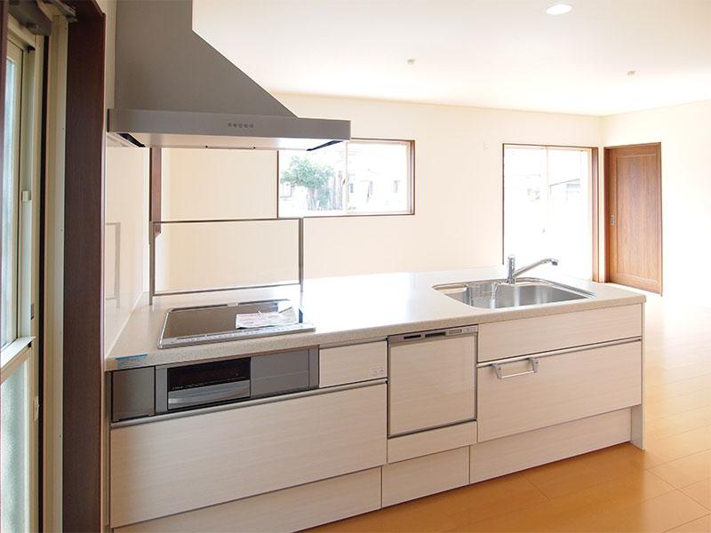 橿原市の注文住宅のキッチン