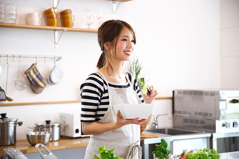 奈良の注文住宅のキッチン